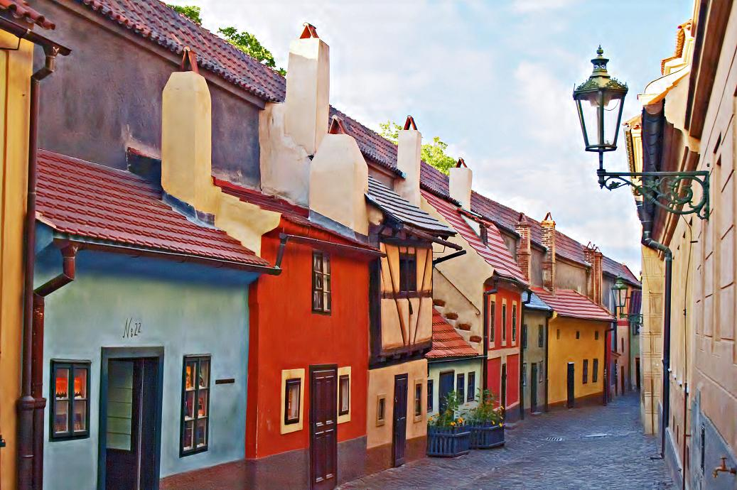 Маленькие улочки Праги