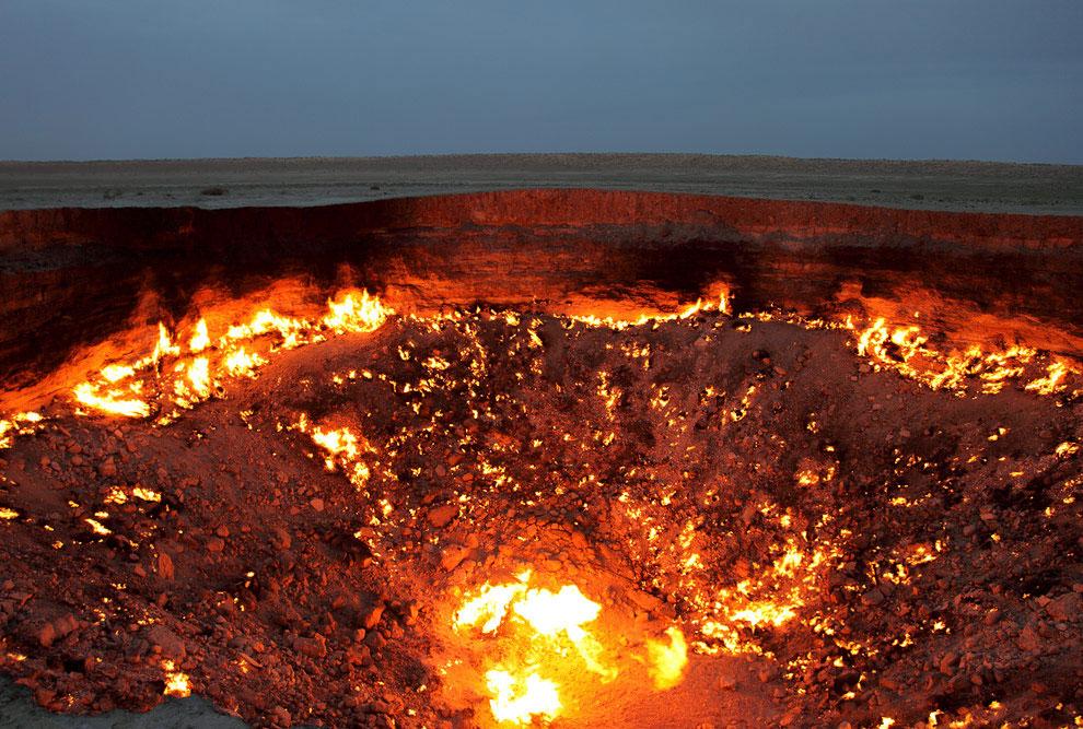 Ворота Ада, Туркменистан