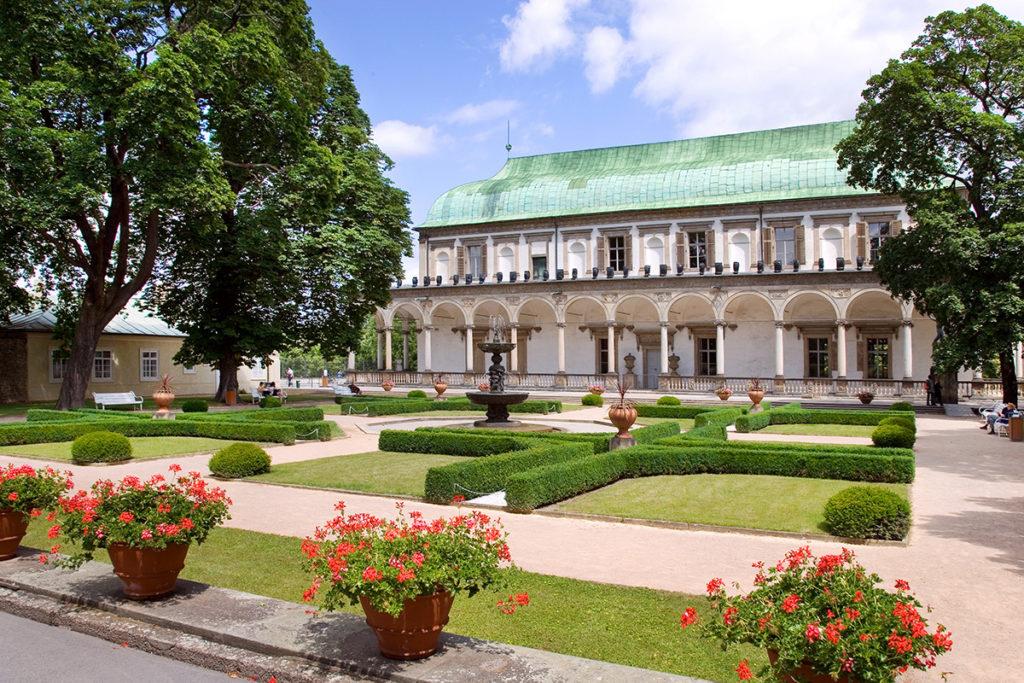 Замок Градчаны и Королевский сад