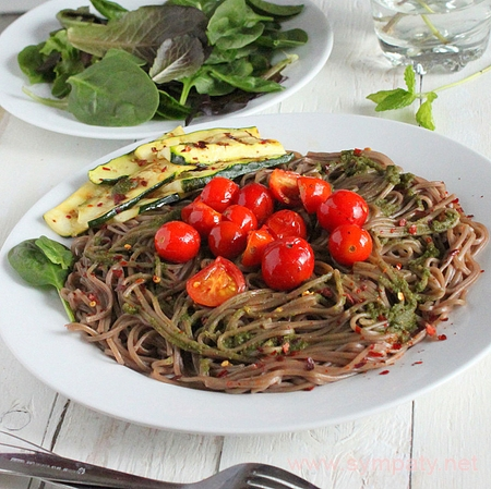 Гречневые спагетти