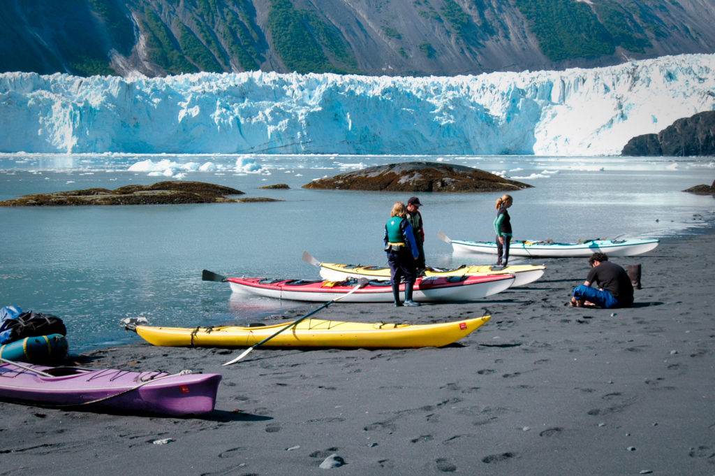 Black Sand Beach, Аляска