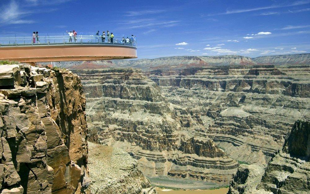гранд каньон небесная тропа