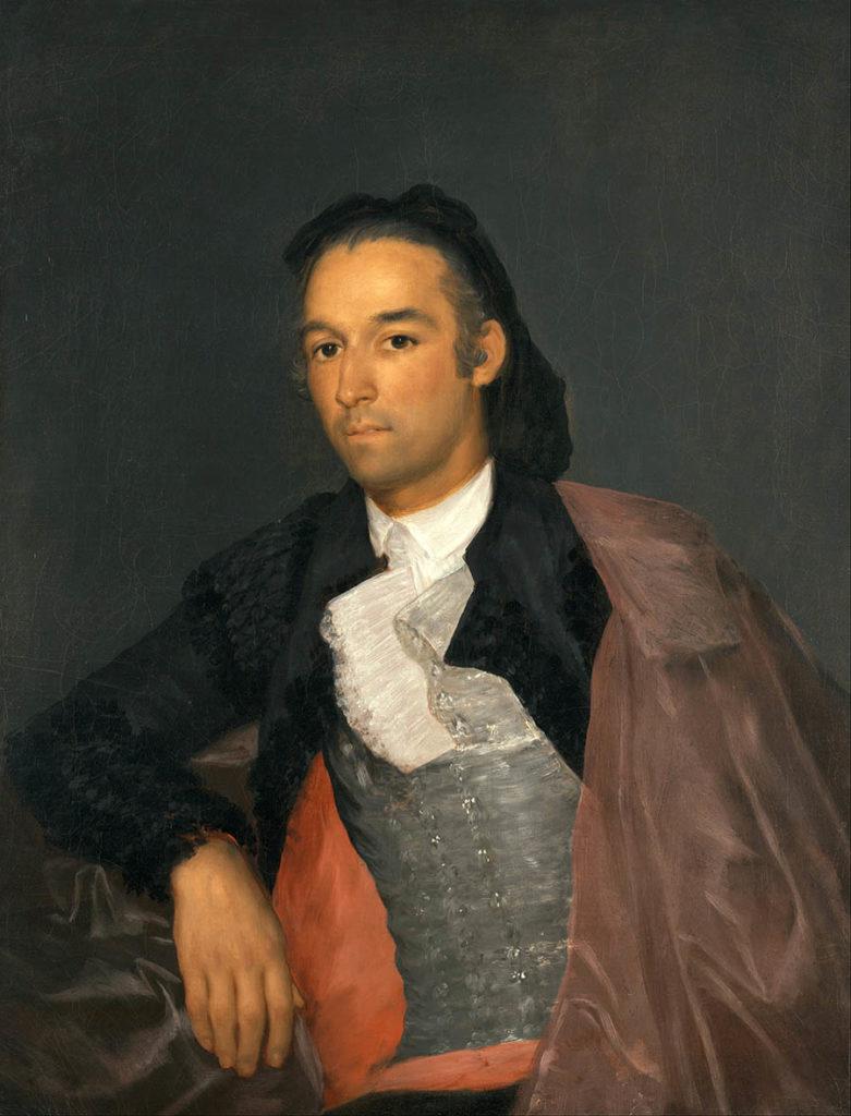 Франсиско Гойя Портрет матадора Педро Ромеро