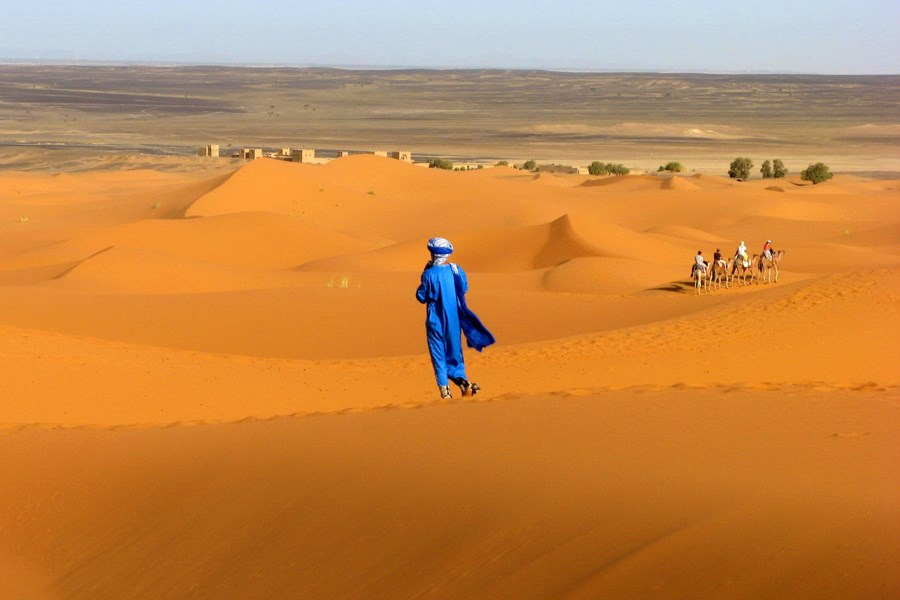 Бедуины в пустынях Северной Африки