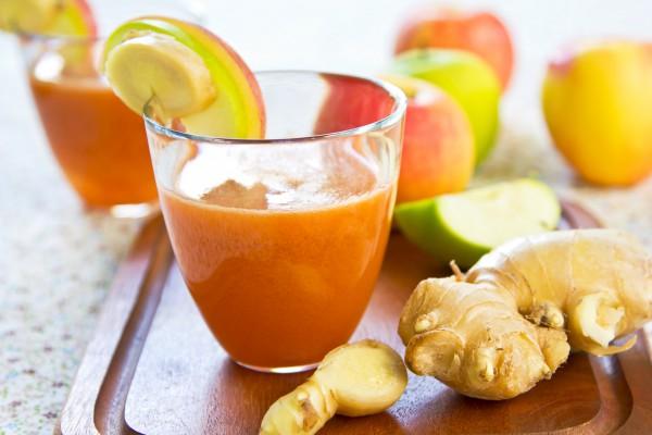 Апельсиновый сок и имбирь