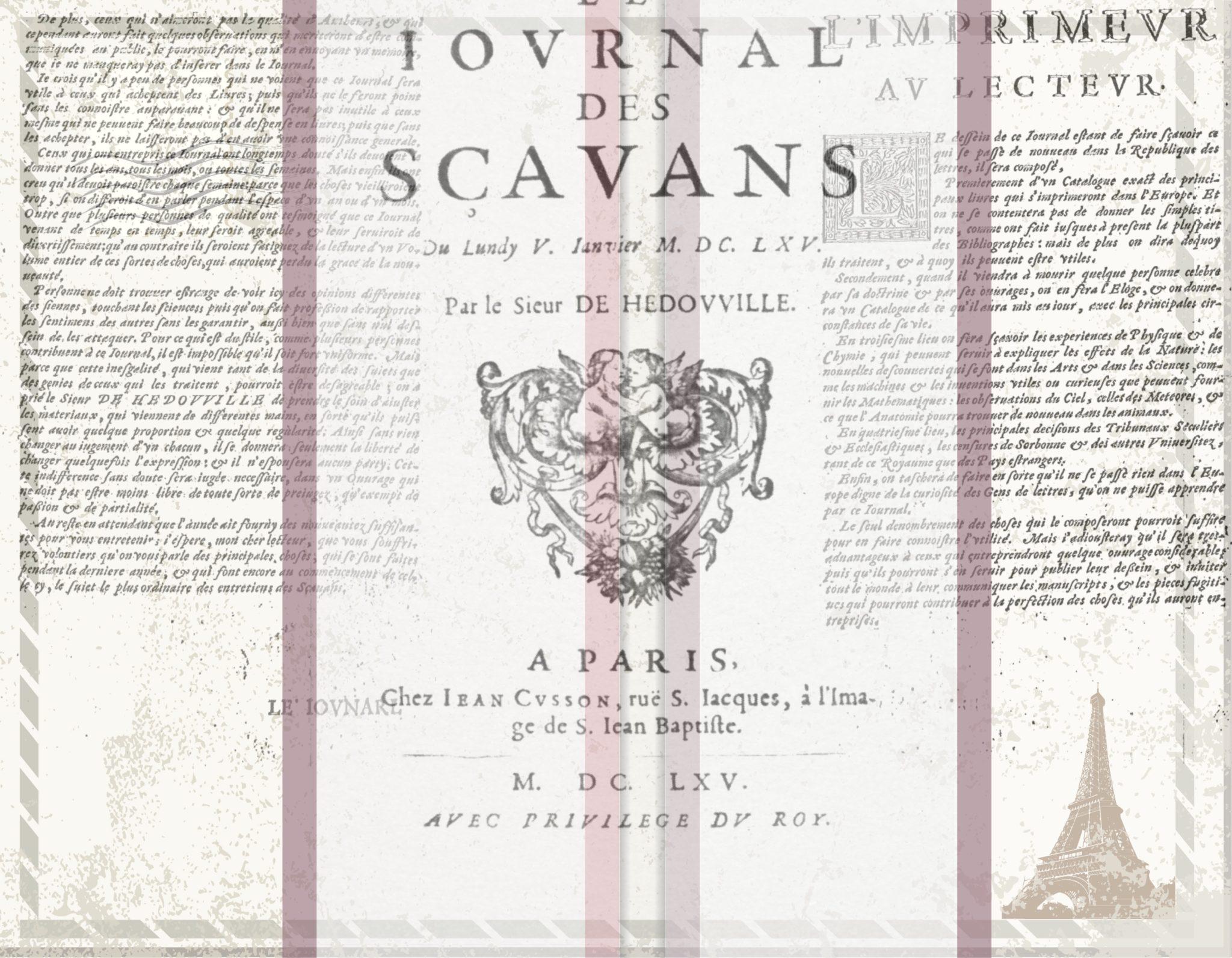 Journal des Scavans