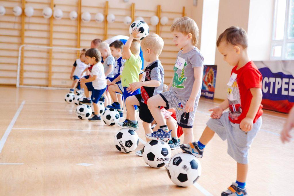 футбольная секция для детей