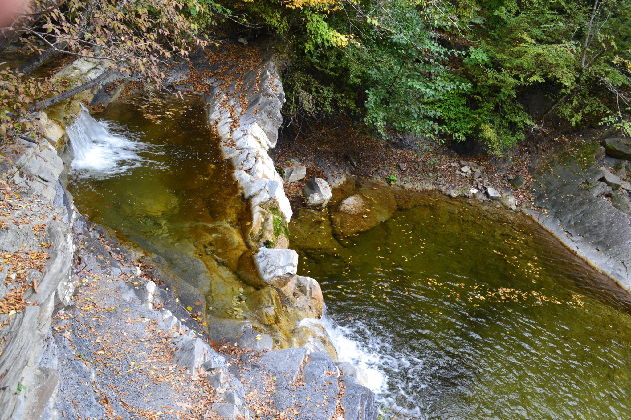 водопад на Жане