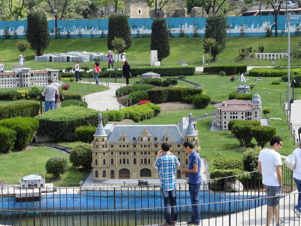 Парк «Миниатюр» стамбул
