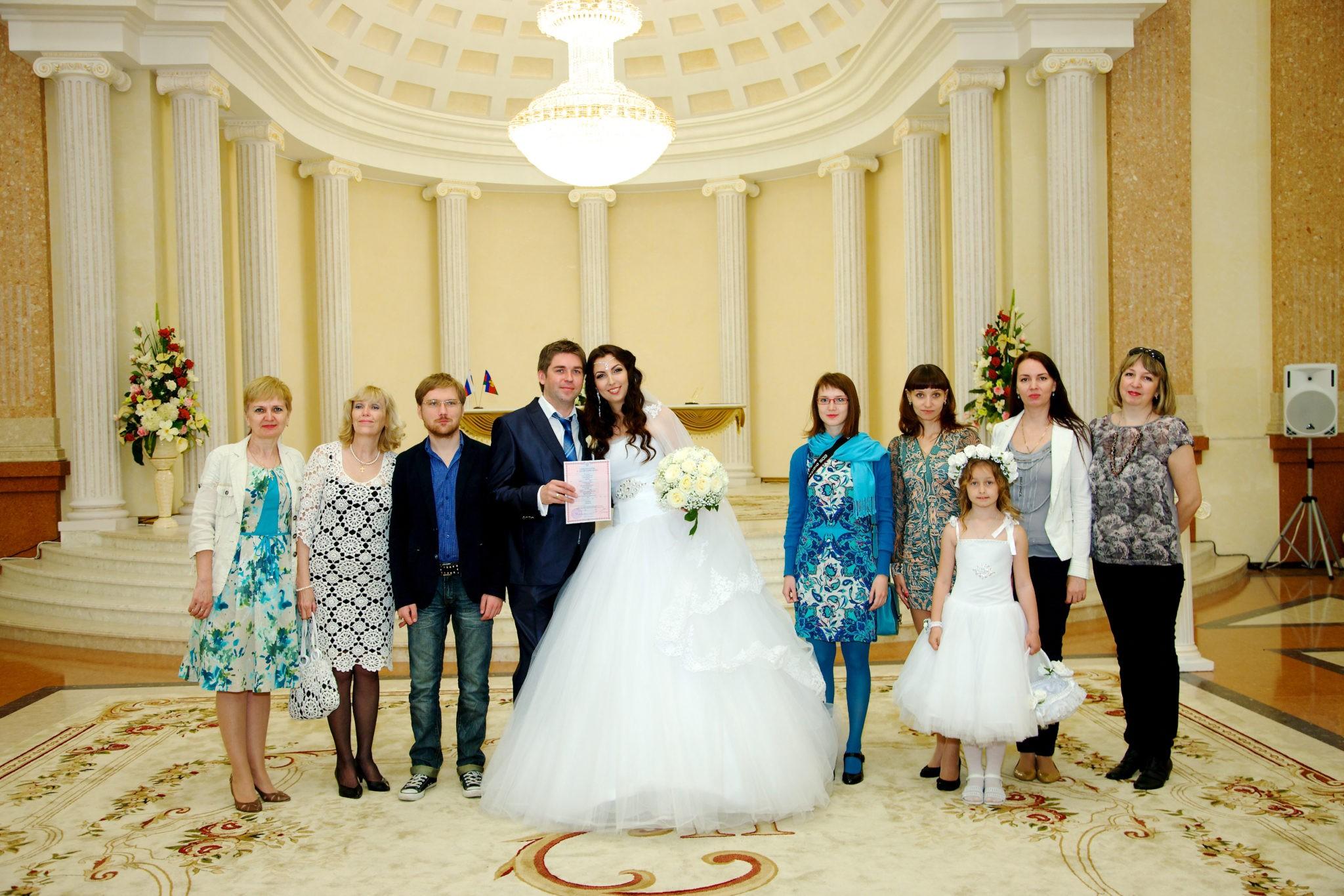 Екатерининский зал - свадьба