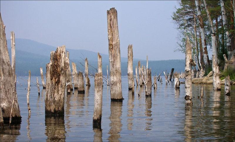 Озеро Тургояк. Остров Веры